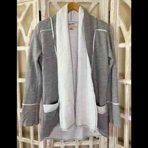 Hard Tail Forever small grey cardigan